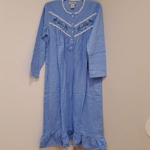 Anthony Richards Blue cotton Nightgown